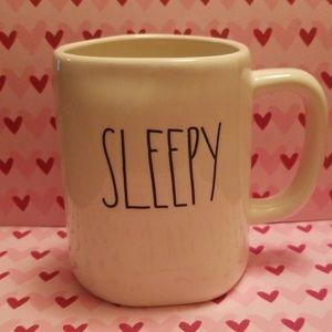 """Brand new Rae Dunn """"SLEEPY"""" coffee mug"""